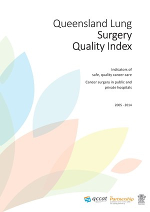 Queensland Lung Surgery Quality Index 2005-2014