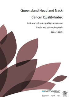 Queensland Head and Neck Quality Index 2011-2015
