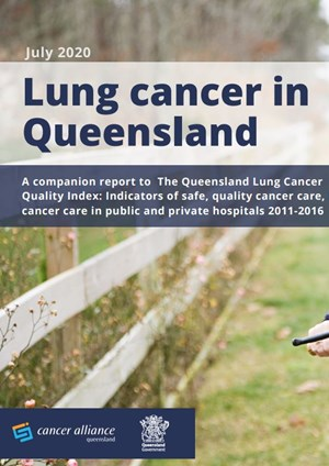 Lung cancer in Queensland